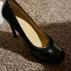 Black Justfab heels